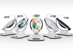 スマホの遠隔操作機能で赤ちゃんをあやせる電動バウンサー  4moms「mamaRoo3.0」3月上旬新発売